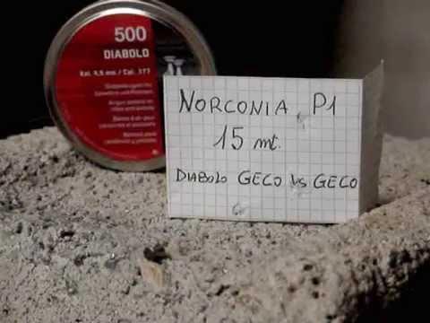 """NORCONIA P1 """"Plinking Extreme"""" Diabolo GECO Vs Diabolo GECO"""