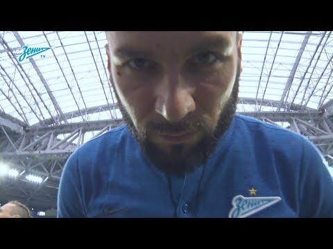 Скрытая камера «Зенит-ТВ»: разгром «Урала» на стадионе «Санкт-Петербург»