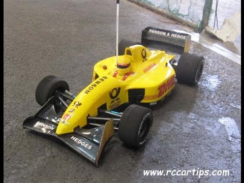 Formula One F1 RC Car Race - F103, F104, Cross, 3Racing F109