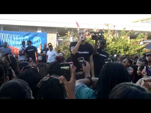 AKA - I Want It All; All I Know; Bang. Live Performance