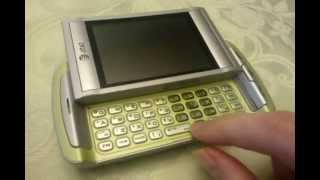 UTStarcom Quickfire Lime Green AT&T Used Cellular Phone $40