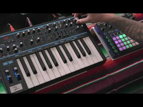 Novation Circuit Tip//004 - Layering with other synths