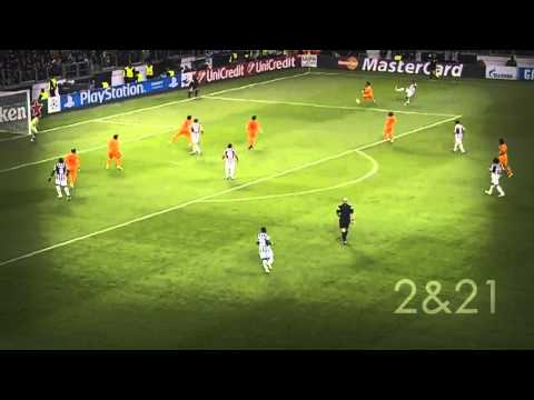 Andrea Pirlo (Passing Compilation) VS. Real Madrid CF - CL 13/14 [HD]