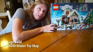 LEGO Winter Toy Shop 10249 Build
