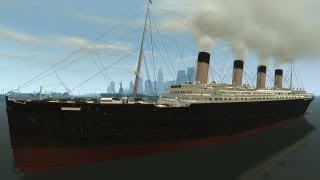 Grand Theft Auto IV - Titanic (MOD) HD