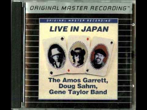 The Amos Garrett Doug Sahm Gene Taylor Band- Sleepwalk (Live)