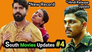 Ram Charan New Record - 3  New Movies Links - NPSNII In Hindi { South Movies Updates #4 }