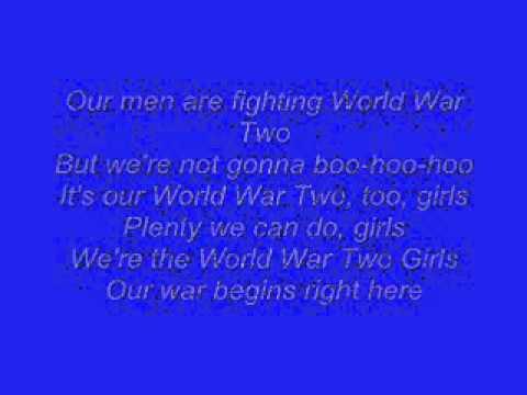 Horrible Histories: World War Two Girls Lyrics video