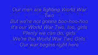 Horrible Histories: World War Two Girls Lyrics