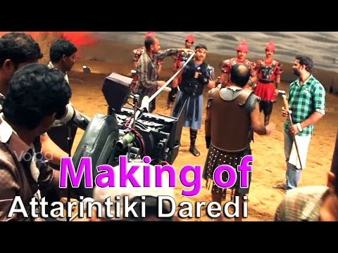Attarintiki Daredi Movie Making || Radiator Getup In Brahmanandam