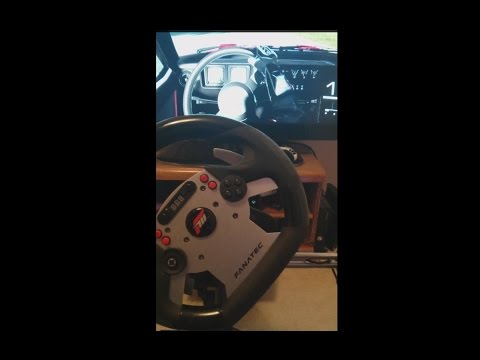 Forza 5 - Fanatec CSR/CSR-E/GT2 + Clubsport Pedals. CSR Seq shifter w/manual clutch. *Current State*