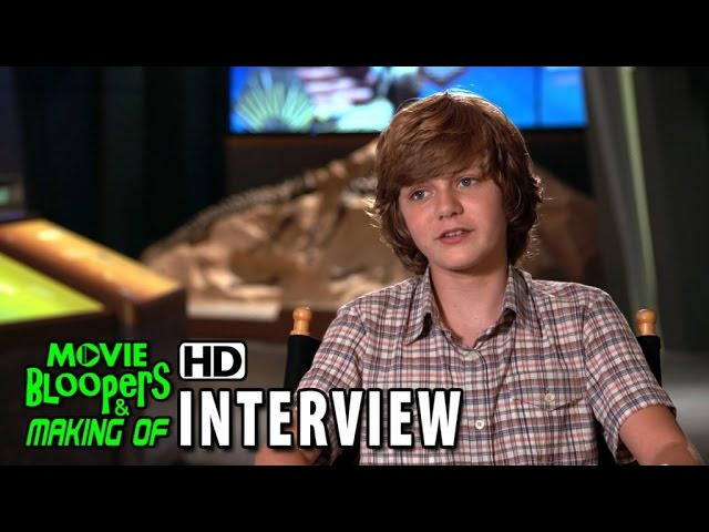 Jurassic World (2015) Behind the Scenes Movie Interview - Ty Simpkins 'Gray'
