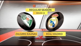 Жальгирис : Реал Мадрид