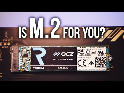 Toshiba OCZ RD400 SSD Review - Crazy Performance Through M.2