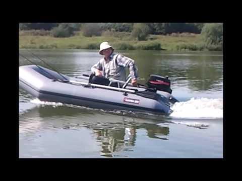 видео лодка и мотор hdx
