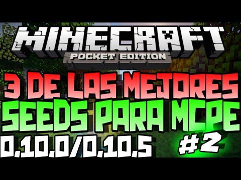 3 De Las Mejores Seeds Para Minecraft PE 0.10.0/0.10.5 #2.