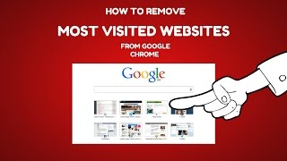 How To Remove Most Visited Website Thumbnails from Google Chrome Dashboard