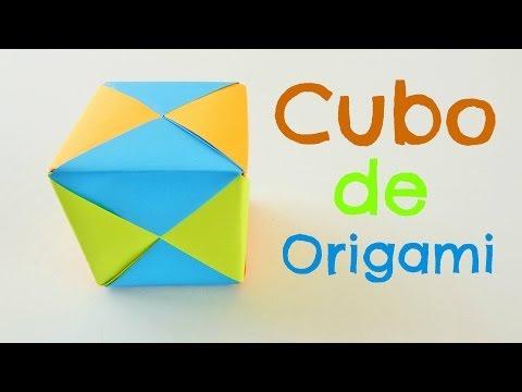 Cubo de Origami {CUBO DE PAPEL} // Origami Modular facil