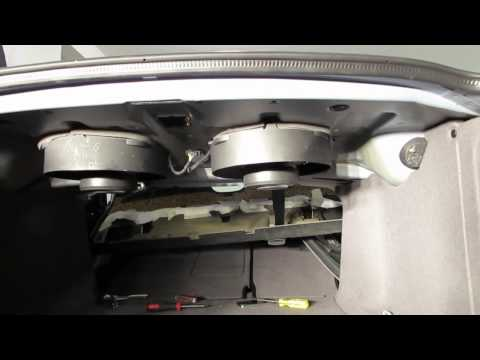 BMW E39 M5 M-Audio Subwoofer Install