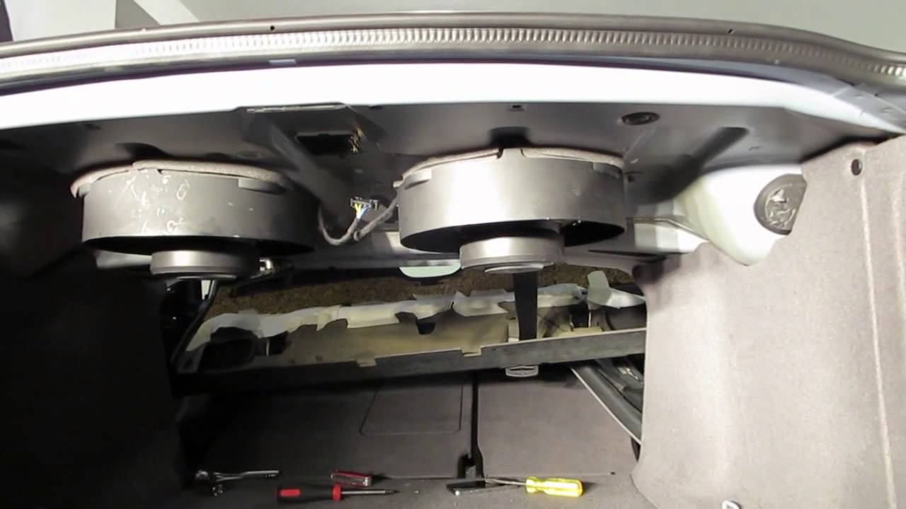 Bmw E39 M5 M Audio Subwoofer Install Youtube