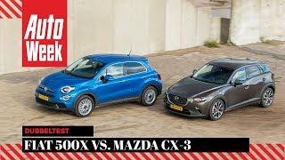 Fiat 500X vs. Mazda CX-3 - AutoWeek Dubbeltest