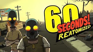 60 Seconds Reatomized - Shelter Managment Humor Sim