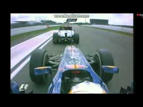 F1 2012 - Germany - Lewis Hamilton overtakes Vettel