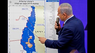 Israel's annexation of the West Bank and Jordan River Valley