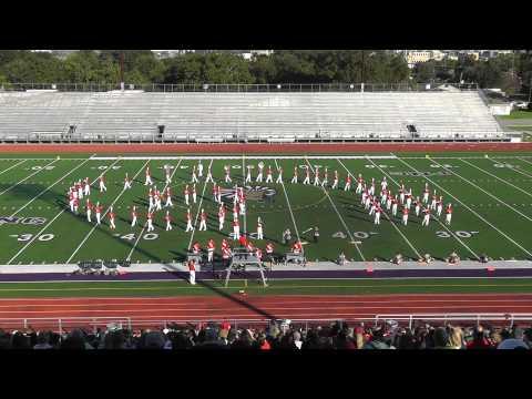 Bridge City High School Band 2013 - UIL Region 10 Marching Contest