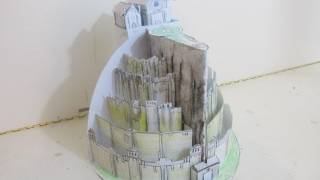 Minas Tirith Paper Castle - Make