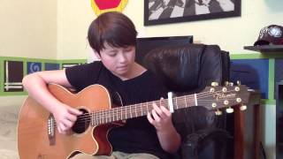 Rather Be - Clean Bandit feat. Jess Glynne - Fingerstyle Guitar Cover