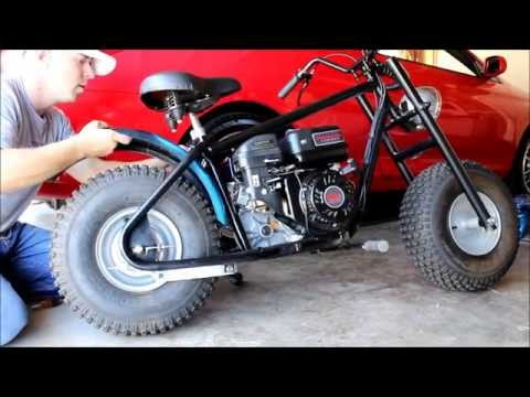 CUSTOM BAJA MINI BIKE PROJECT 212cc