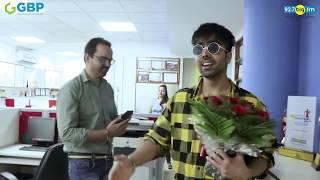 Harrdy Sandhu Announcing Winner on Auspicious Navaratri Festival - GBP Group