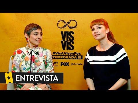 Entrevista a Najwa Nimri y María Isabel Díaz ('Vis a Vis')