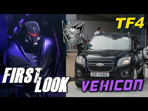 FIRST LOOK at Live Action Decepticon Vehicon - [TF4 News #108]