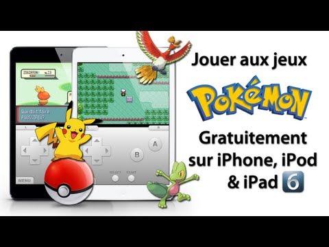 Jouer aux jeux Pokémon gratuitement sur iPhone. iPod Touch & iPad sous l'iOS 4/5/6