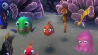 """Le Monde de Nemo 3D de Disney : Extrait du dessin animé - """"M. Raie"""""""