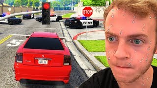 Playing GTA 5 without BREAKING ANY LAWS!