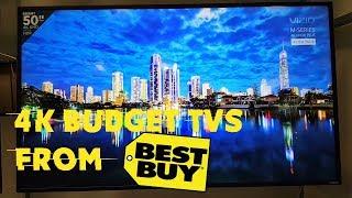 Best 4k HDR Budget TVs