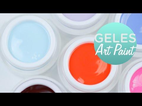 Geles Art Paint para decorar tus uñas | Tutorial paso a paso