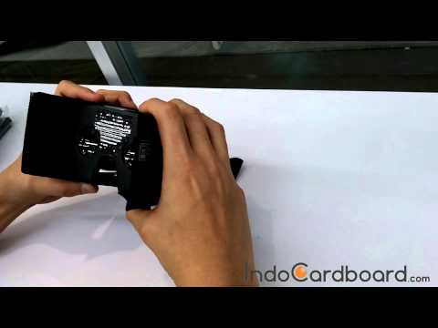 Tutorial Merakit Google Cardboard VR / How To Assemble Google Cardboard