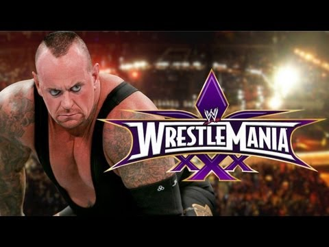 WWE Wrestlemania 30 - Undertaker Vs Goldberg (Streak On The Line) HD
