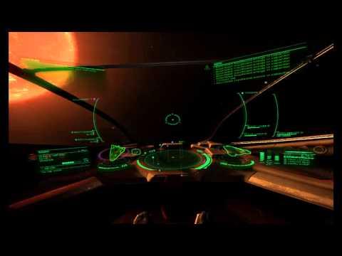 Elite: Dangerous - Guarding Nav Beacon in Ho Hsi with Viper and Oculus Rift DK2