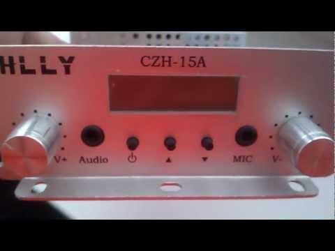 HLLY 15w fm transmitter in