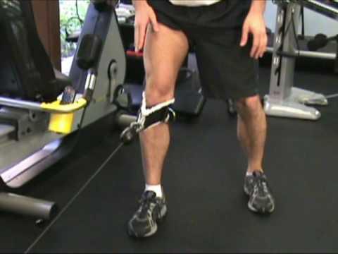 VMO Exercises | Vastus Medialis Cable Technique - YouTube