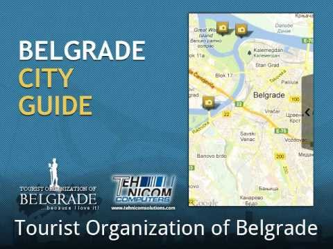 Belgrade City Guide, official Android application