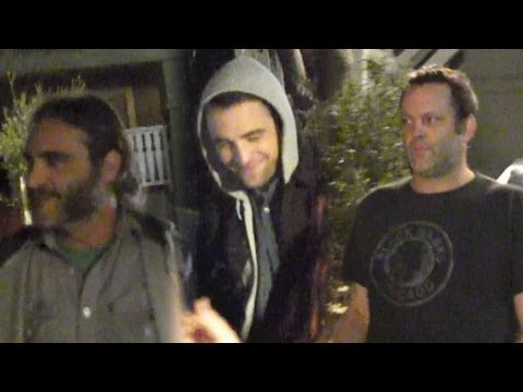Robert Pattinson Parties With Barflies Vince And Joaquin