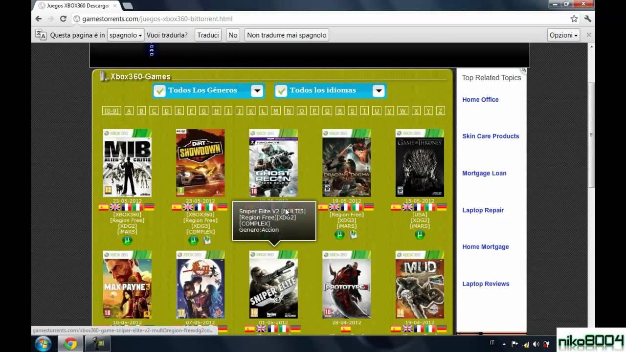 Come Scaricare i Giochi per PC, XBOX360, PS3, PS2, PSP, NDS, Wii ...