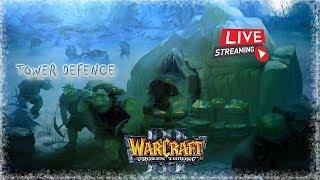 Стримчик | Warcraft 3 | GarenaLan | TFT-Russia- room 1 | TD+