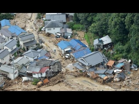 At Least 6 Dead, 22 Missing in Hiroshima Landslide